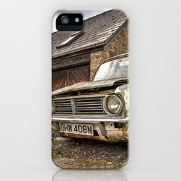 Distressed Classic iPhone Case