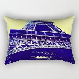 Eiffel Tower Pop Art Rectangular Pillow