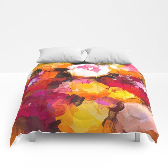 Delicious Floral Comforters