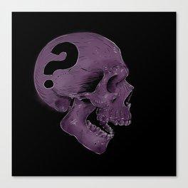 SKULL? Canvas Print