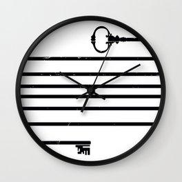 (Very) Long Key Wall Clock