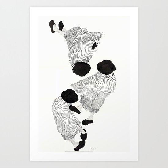 Silêncio Art Print
