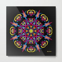 ¡Light blooming in mandala! Metal Print