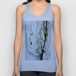 Weathered Barn Wall Wood Texture Unisex Tank Top