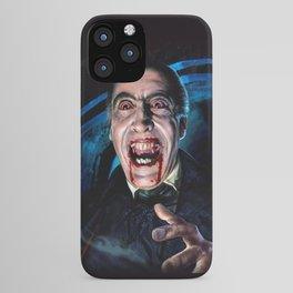 Christopher Lee Dracula Horror Movie Monsters iPhone Case