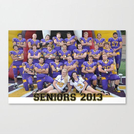 seniors 2013 Canvas Print