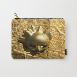 Golden Mask Carry-All Pouch