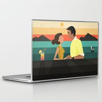 tequila Laptop & iPad Skins featuring Tequila sunrise by Slavena Peneva
