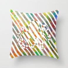 nebula 2 Throw Pillow