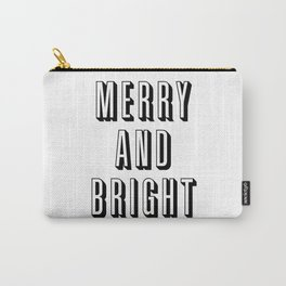 Merry and Bright Carry-All Pouch