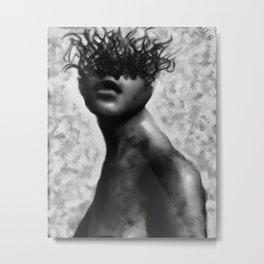 Benumb Metal Print