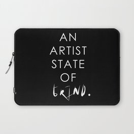 NY state of mind, Artist state of grind Laptop Sleeve