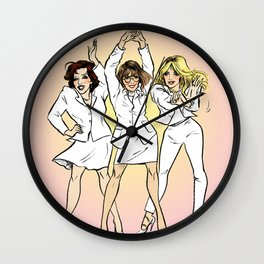 "FWC ""You Don't Own Me"" pin-up Wall Clock"