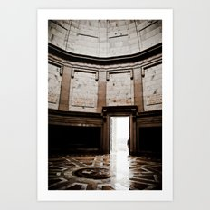 Inside Monument Art Print