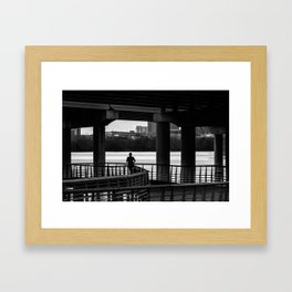 Keep Going Framed Art Print