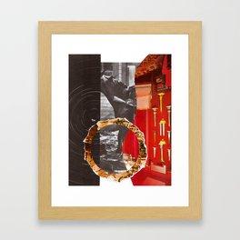 Rotating Horse Invator Framed Art Print