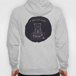 Relax Cat, A Healthy Start, Meditation Hoody