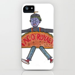 Taco Royalty iPhone Case
