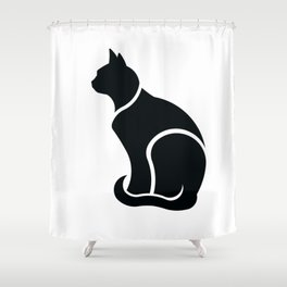 I am a Cat Shower Curtain