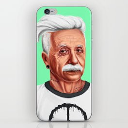 Hipstory -  Albert Einstein iPhone Skin