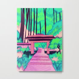 To the forest path Metal Print
