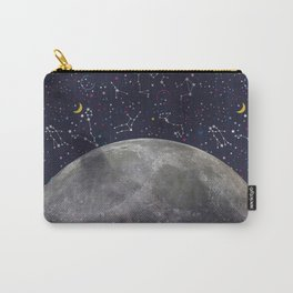 Colorful Mystic Galaxy Constellation Moon Stars and Cosmic Space Carry-All Pouch