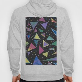Triangle Abstract Design. Hoody