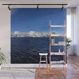 Antarctic Mountain Range Wall Mural