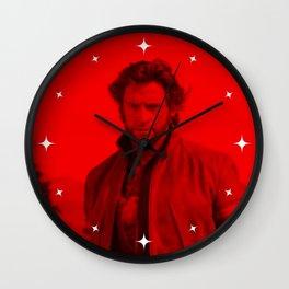 Hugh Jackman - Celebrity (Photographic Art) Wall Clock