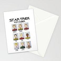 STAR TREK VOYAGER  Stationery Cards