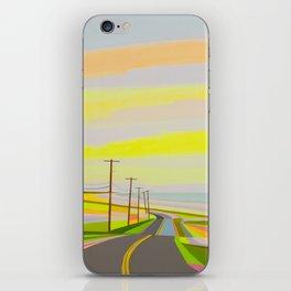 Sunrise on Old montauk Highway iPhone Skin