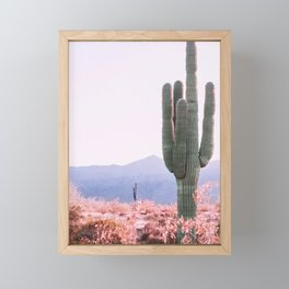 Warm Desert Framed Mini Art Print