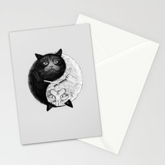 Grumpy Yin Yang Stationery Cards
