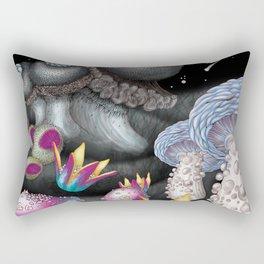 magic Mushroom Forest Rectangular Pillow