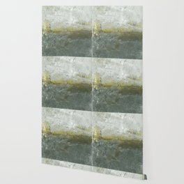 Boundary Between The Cloudy Sky And The Ground Wallpaper