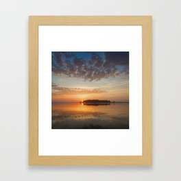 A Gentle Kiss Framed Art Print