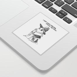 Goody Porgtor Sticker