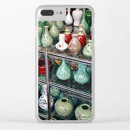Traditional Korean Ceramics, Seoul, South Korea Clear iPhone Case