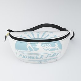Happy Pioneer Day | Gift |  Fanny Pack