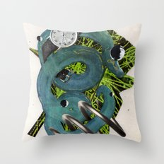 Quantime | Collage Throw Pillow