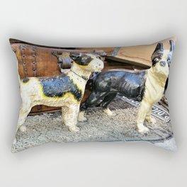 Tenacious Terriers Rectangular Pillow