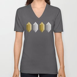 These Aren't Rupees! - Gold & Silver White Unisex V-Neck