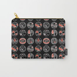 top pattern II Carry-All Pouch