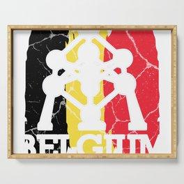 Belgium gift Brussels Belgian Flemish Serving Tray