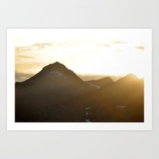 The Mountain Of Fire Art Print