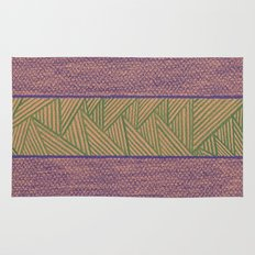 Green and Purple Rug