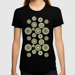 Kiwi flowers T-shirt