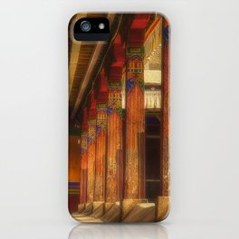 At the monastery, traditional Buddhist residential architecture (Lhasa, Tibet, Himalayas) (2016-6T19) iPhone Case