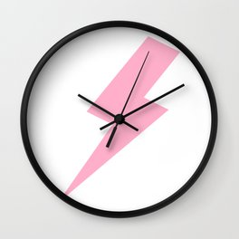 Bolt of Courage Wall Clock