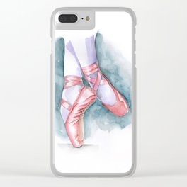 ballet sneaker Clear iPhone Case
